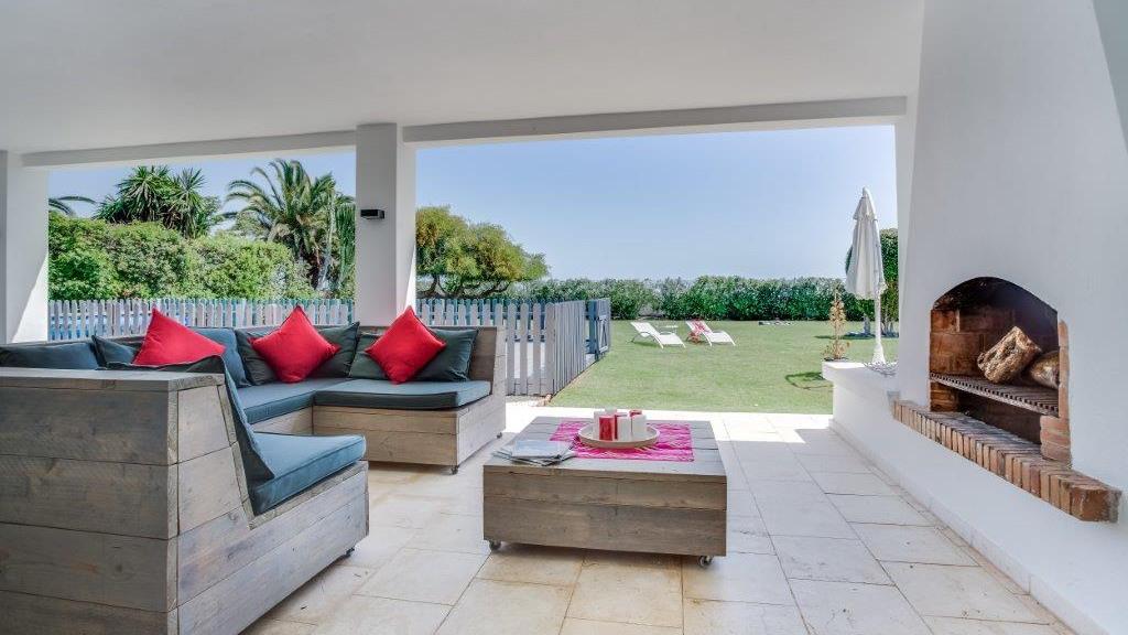 Villa in front of the sea Puerto Banús for rent - Gilmar