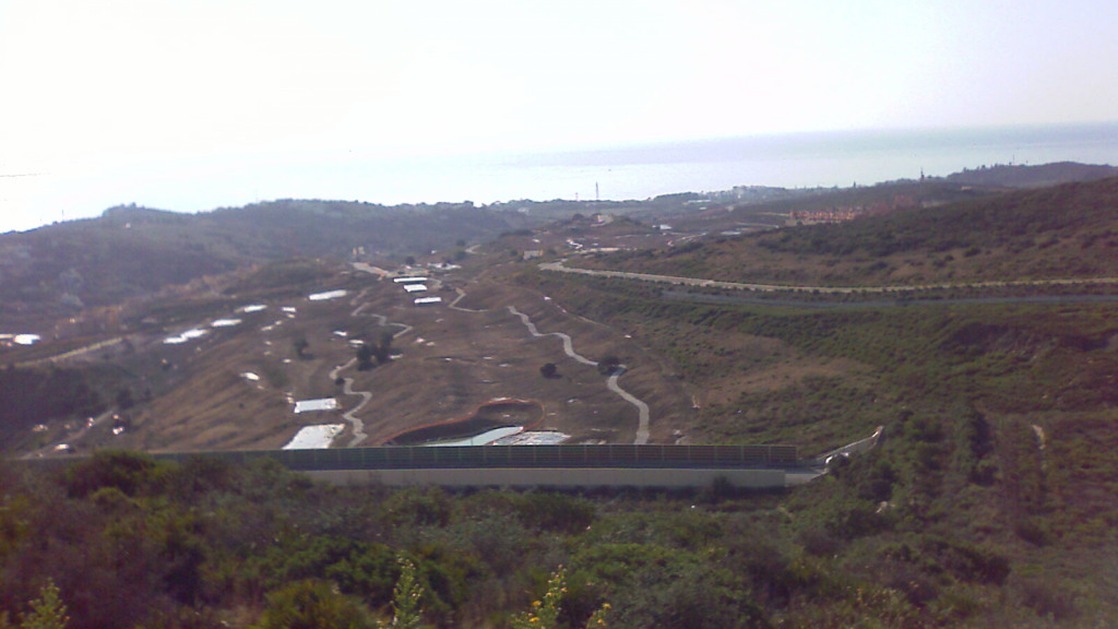 Urban plot next to Valle Romano with sea views for sale - Gilmar