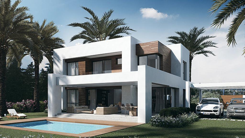 Casa Unifamiliar por un Venta en El Paraíso El Paraíso Villa Paraiso Barronal, Malaga 29688 España