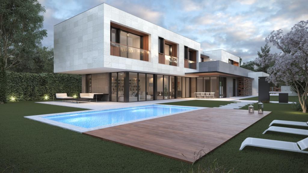 Casa Unifamiliar por un Venta en Las Lomas Las Lomas Boadilla del Monte, Madrid 28669 España