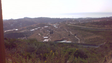 Urban plot next to Valle Romano with sea views - Gilmar