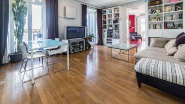 Magnifico piso en esquina en plena zona de Palacio - Gilmar