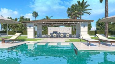 Villa moderna en construcción en Benahavis - Gilmar