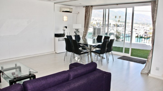 Apartment in Puerto Banús with harbour views for sale - Gilmar_