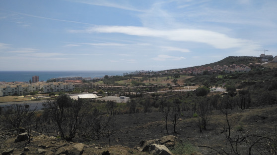 Residential plot with sea views along Duquesa for sale - Gilmar_